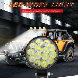 48W 12V-24V 16LED Çalışma Lambaları Taşkın Işın Araç ATV Off-Road Sürüş Sis Lambaları