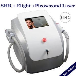 Multifuncional Picosure Laser Remoção de Tatuagem Pigmentação Máquinas SHR IPL cabelo remoção Pico Segundo Laser De Carbono Peeling Rejuvenescimento Da Pele