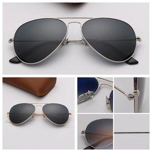 Designer Sunglasses Brand Mens designer Sunglasses Women UV400 Lens Sun Glasses Mens Alloys Frame Eyeglasses Oculos De Sol with Leather Case