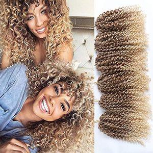 니코 헤어 Malibob 3packs Kanekalon 합성 대량 머리 연장 8 인치 말리 밥 아프리카 트위스트 곱슬 크로 셰 드리다