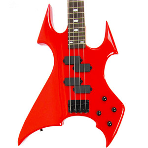 New Guitars 4 String Black Ricken Bass Guitar Red Blue White Scorpion Modeling Rock B001 Initiative Adapterization