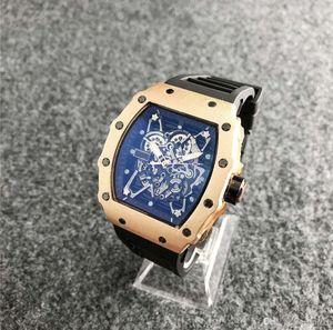 2020 Luxury Fashion Skeleton Watches Men or Women Skull sport Quartz Watch Luxury Men's Quartz Watch Wholesale Silicone Sports Watches