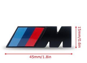 Премиум М-СПОРТ для BMW. Хромированная эмблема, эмблема, наклейка с логотипом, багажник багажника сзади, 45 мм.