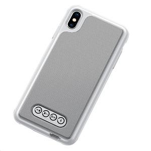 1000mAh multifunción 3en1 tapa de la batería de emergencia BLUETOOTH V4.2 ALTAVOZ caso para el iPhone 6 / 6S 7 8 Plus X / del teléfono Banco de alimentación XS Max XR