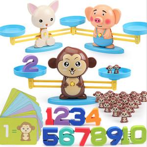 4 أنماط انفجار التعليم المبكر الكرتون على غرار حيوان طفل المخابرات في وقت مبكر الرياضيات التعليم تعلم لعبة التوازن الأطفال هدية Z0555