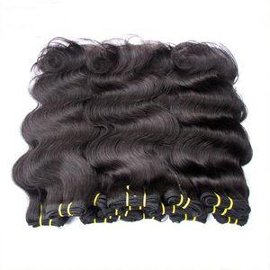 produits capillaires brésiliens de gros pas cher 6a extensions de cheveux humains vierges brazilian style tissages vague de corps mélanger 20bundles noir naturel 1 kg