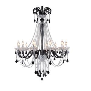 Modern Pendurado Lustre Sala de Jantar Lustres de Teto Para Casa Lustre de Iluminação Moderna Lustres de Cristal Luminárias lampadari