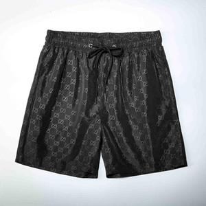 Sommer kurze Hosen wasserdicht schnelltrockn Badeanzug Designer HAKA schwarz und weiß Meduse Strand Shorts Herren-Badeanzug für Männer schwimmen