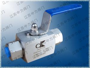 Q11N ultra high pressure high temperature internal thread ball valve