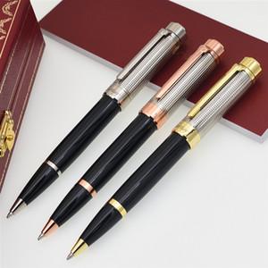 شحن مجاني فاخر C العلامة التجارية معدن قلم حبر جاف قلم حبر قلم اللوازم المكتبية والقرطاسية المدرسية الكتابة السلس الأقلام مصمم هدية