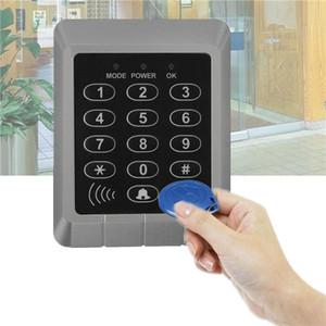 Sécurité Lecteur RFID système d'entrée de verrouillage de porte d'accès clavier de commande + 10 Pcs clés