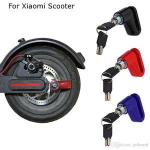 Anti-Theft Scooter Brake Disc Lock para bicicleta Xiaomi Mijia M365 inteligente Scooter elétrico da motocicleta Montanha