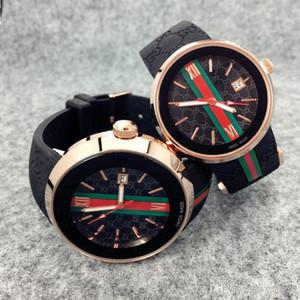 Bestsell Moda mulheres Assista Men Quartz Chronograph Sport Watch Man qualidade Data top de luxo Relógio de pulso Projeto agradável estilo casual borracha relógio