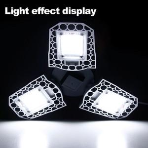 Garage lumière 100W 80W 60W LED Lampe LED E27 Ampoule LED Lampe Capteur déformable Garage lumière 2PC / LOT, 5PC / LOT