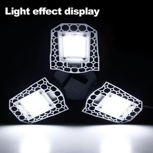 Garage Licht 100W 80W 60W LED-Lampe E27 LED-Licht LED-Birnen-Sensor deformierbare Lampe Garage Licht 2PC / LOT, 5PC / LOT