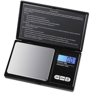 Jewelry Mini Stainless Steel Electronic Scale Digital Pocket Scale Gold Balance Weight Scale Portable