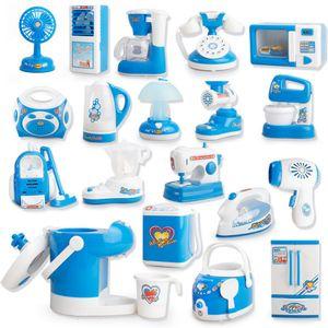 Mikrowellenherd Pretend Play Appliance Kinder Pretend Play Kitchen Spielzeug Haushaltsgeräte Spielzeug für Kinder Jungen Mädchen Spielzeug