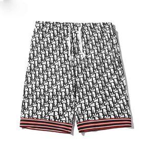 Men's designer summer shorts pants fashion print drawstring shorts 2020 loose men's luxury sweatpants