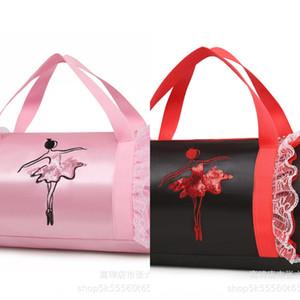 Dance children's female single shoulder bag shoulder ballet dance bag