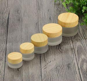 5g al por mayor 10g 15g 30g 50g 100g tarros cosméticos de maquillaje vacío Crema Facial Emulsión contenedores para el empaquetado cosmético