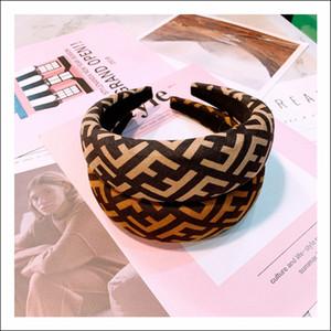lettres large bord imprimé léopard simples 100 cheveux prennent accessoires pour cartes de cheveux non-slip de bande automne personnalisé original et hiver nouveaux styles