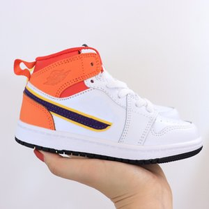 Children's leather sports super fashion color scheme A sport of more than of timeless blue ball leisure brand a cone kids shoes size22-37