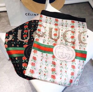 고품질 브랜드 봄과 여름 패션 여성의 스카프 부드럽고 가벼운 쉬폰 목도리 브랜드 장식 스카프를 인쇄
