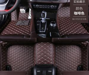 Tesla Model-3에 적합한 자동차 바닥 매트 비 독성 및 무방용 고급 맞춤형