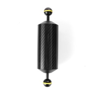 """Freeshipping 225mm 8.9 """"De Fibra De Carbono Flutuação Flutuabilidade Aquático Braço Dual Ball Diving Camera Bandeja"""