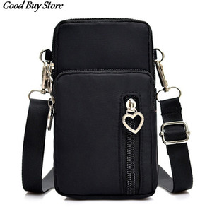 Women Phone Bag Universal Cellphone Wallet Bags Arm Shoulder Pouch Pocket Mini Adjustable Belts Casual Sports Crossbody Purse