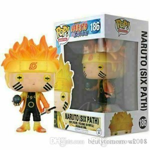 Super Beauty Naruto (Six Path) # 186 Funko Pop Vinil Figura NARUTO Shippuden Toy presente Xmas