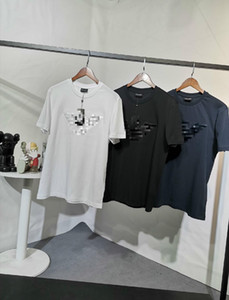 2020 USA mens favour tees men t shirt short summer cotton Essential Imported rhinestone des style perfect detail tshanks