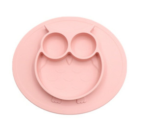 Baby Feeding Suction Plate BPA free Silicone toddler Bowl Kids food grade Non Slip mat
