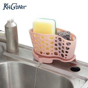 KHGDNOR раковина губка щетка стеллаж для хранения висит корзина для слива воды Сепарабольное мыло зубная щетка сливной шкаф