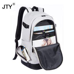 Unisex School Bag Waterproof oxford fabric Schoolbag Business Men Women Backpack Computer Casual Travel PacksacK High capacity