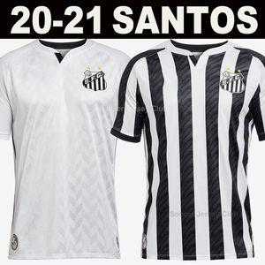 2020 2021 Santos Brezilya Futbol Forması 20 21 Brasil Kulübü Santos Eve Uzakta Futbol Gömlek 8 Cuevas Rodrygo Soteldo Camisata de Foot Santos