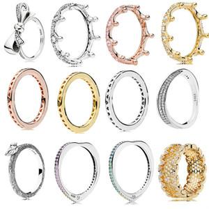 Стерлингового Серебра 925 Pandora Кольцо Подвески Honeycomb Серии Diy Женщины Для Женщин Ювелирные Изделия