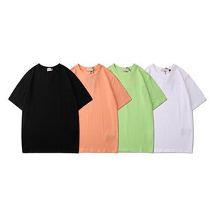 Tide brand palm Trees angels fashion T Shirt men and women couple short-sleeved T-shirt Mens 2020 luxury designer clothes
