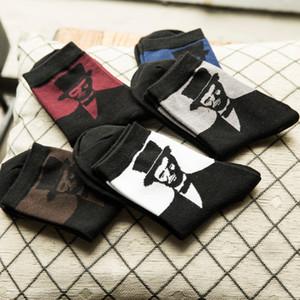 5 Pairs Set Van Gogh Çorap Komik Pamuk Beyefendi Desenli çorap Serin Bahar Ayak Bileği Erkekler Çorap Sanat Rahat Erkek Moda Sox