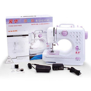 505A doméstico máquina de costura 12 pontos eléctrica multifuncional mini mini máquina de costura