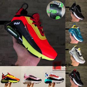 2020 Kinder 2090 XX3 Baby-Preschool Außen Sneakers Ente Camo Bred Grau Kleinkind Kinder Cool Running Schuhe Rücklicht 2090S Trainer Auf X