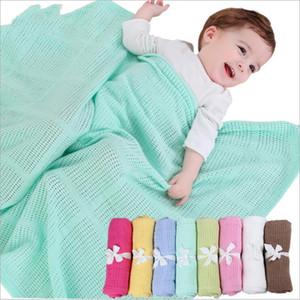 Bebek Battaniye Pamuk Hava Durumu Battaniyeler Kid Yumuşak Örme Casual Wrap Kundaklama Parisarc Pram Arabası Battaniyeler Kapak Çocuk Yatak C6230
