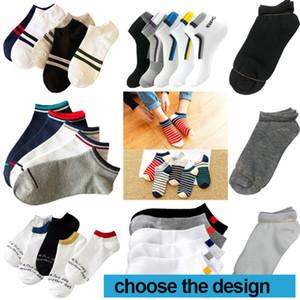 Mulheres tornozelo Socks Desporto Algodão Sock Unisex Homem Skate Sneaker Cheerleaders Fress tamanho no estoque DHL transporte rápido