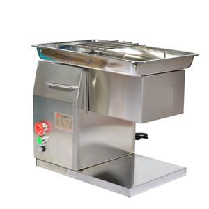 QH Tischplatte Metzger Electric Small Frisch Fleischleistenschneidermaschine 550W 500 kg / h 220V 50Hz für Schweinefleisch-Rindfleisch-Hühnerfleisch