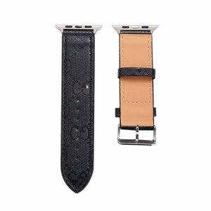 Couro genuíno da Apple faixa de relógio 38 milímetros 40 milímetros 42 milímetros 44 milímetros de substituição de luxo Banda pulseira Com inoxidável metal Fecho Para Série iWatch Strap 1