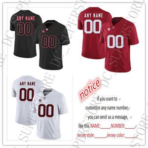 A buon mercato personalizzato Alabama Crimson Tide NCAA Jersey cucita su misura Qualsiasi numero nome Jersey UOMINI DONNE CALCIO GIOCATTOLO JERSEY XXS-6XL