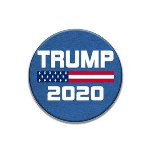 GGA3221 joyería 16 Sstyles 2020 Trump Banner Badge Trump broches Donald Trump América grande otra vez Elección del brazal de la insignia