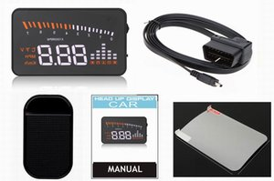 HUD X5 cabeça Up Display Car HUD cabeça Up Display Styling Car velocidade Alarm OBD II Head-up OBD2 interface