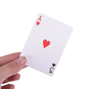 2 Imposta Facile Classic Magia Carte da gioco Famiglia divertente gioco di Magic 3 Three Card card trick