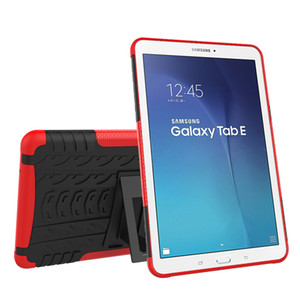 TPU Protective Durable Cover with Kickstand for Samsung Galaxy Tab E 9.6 T560 T561 T565 T567 Tablet Silicone Hybrid Case